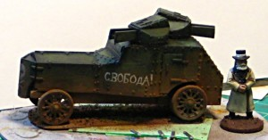 Armstrong-Whitworth Armoured Car, Part Three