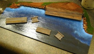 Shoreline or River Bank Terrain Pieces