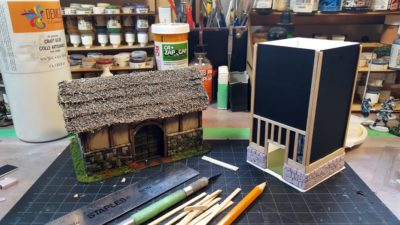 Half-Timber Dovecote, Dampfpanzerwagon Style: Part One