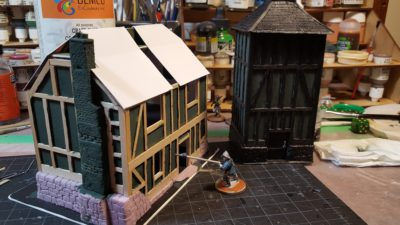 Half-Timber Farmhouse, Part One