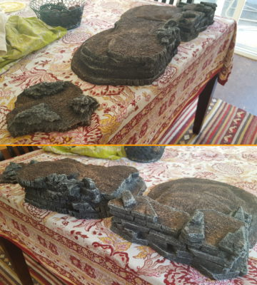 Grey drybrushing done. Click for larger.
