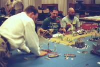 RN troopships; and players