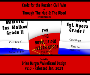 Updated M&B Russian Civil War Cards!
