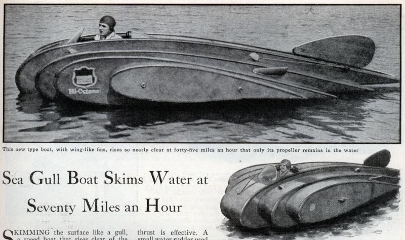 Boat plans from Popular Mechanics magazine