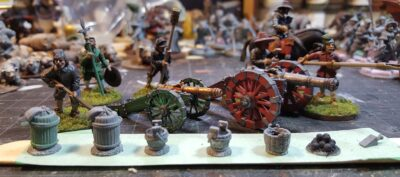 17th Century Artillery Finally Finished