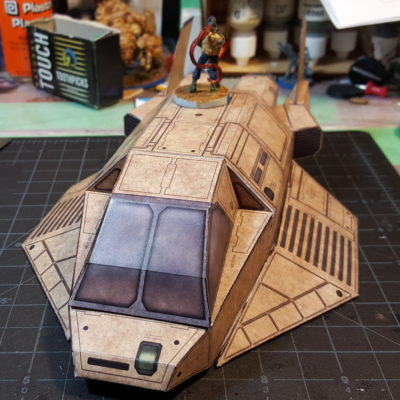 Papercraft Spacecraft!