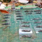 tiny ships on bases