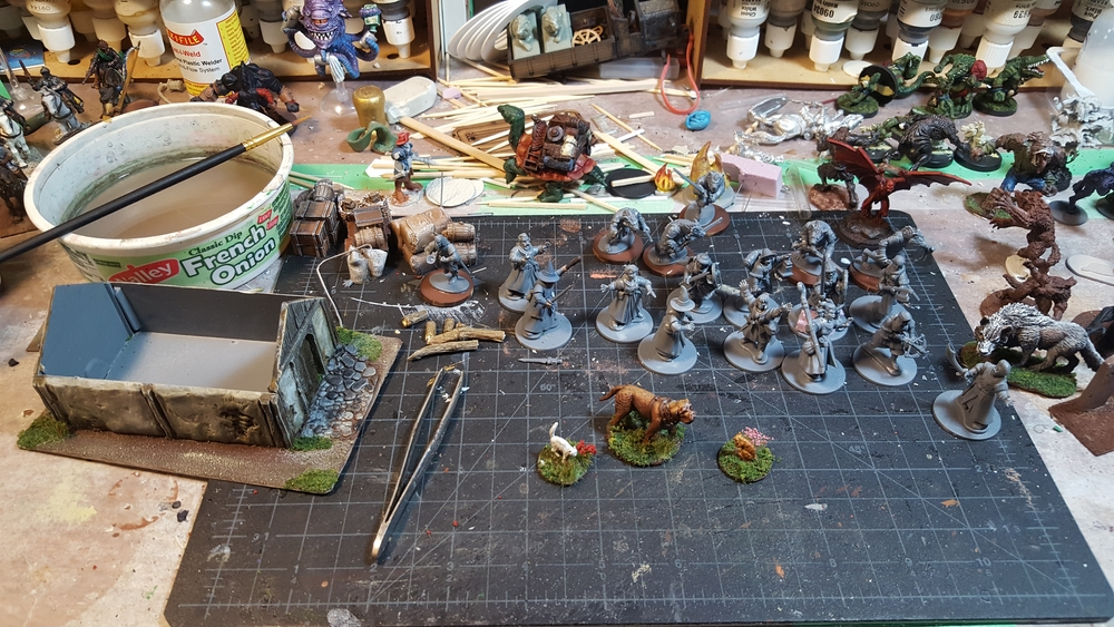 the workbench this week, April 2020