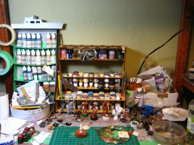 Impudent Mortal Paint Rack